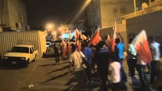 preview picture of video 'البحرين : مسيرة  دمائكم تصنع النصر سترة واديان 27/6/2013'