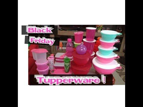 Black friday Tupperware !!!