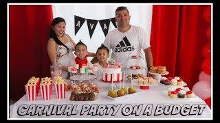 DIY CARNIVAL BIRTHDAY PARTY