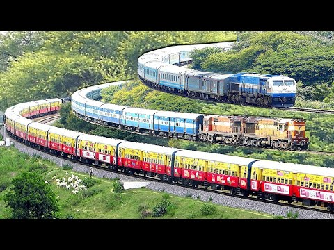 A Journey Of Indian Railways (1853-2019)