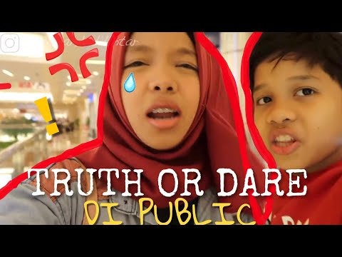 TERIAK! Naksir sama siapa? TRUTH OR DARE PUBLIC!  ft Fateh Halilintar *NO CLICKBAIT*