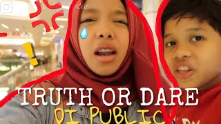TERIAK! Naksir sama siapa? TRUTH OR DARE PUBLIC!  ft Fateh Halilintar *NO CLICKBAIT*