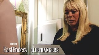 Mel Blackmails Sharon! | Cliffhangers | EastEnders