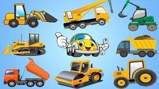 Развивающие мультфильмы. Сборник. Все серии про машинки, грузовик, трактор. Мультики про м