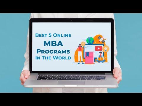 Best 5 Online MBA Programs in the World | MiM-Essay