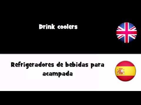 APRENDER INGLÉS = Refrigeradores de bebidas para acampada