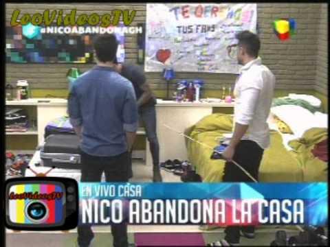 Nicolas antes de irse le pide a Mariano que cuide a Matias GH 2015 #GH2015 #GranHermano