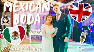 MEXICAN WEDDING (Mexican & English) 🇲🇽❤️ 🇬🇧 #anndyviajera