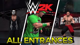 WWE 2K Mobile: All Superstars Entrances - Video