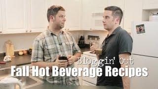 Fall Hot Beverage Recipes