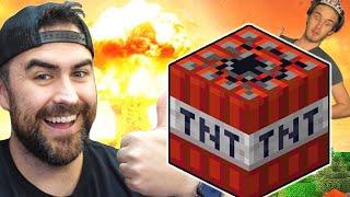Friend Vs Friend in Minecraft w/Pewdiepie