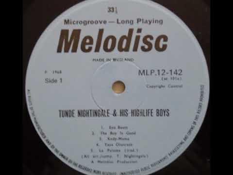 TUNDE NIGHTINGALE (1968) - EYO BEATS