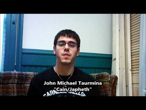 John Michael Taurmina as Cain/Japheth I Children of Eden