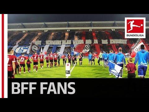 Schalke and Nürnberg Fans Celebrate Together With Joint Tifo
