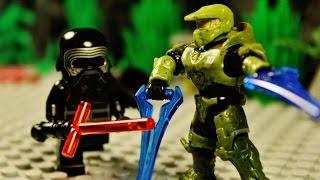 Lego Halo vs Star Wars 16