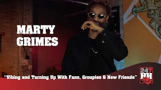 Marty Grimes - Vibing and Turning Up With Fans, Groupies & New Friends (247HH Wild Tour Stories)
