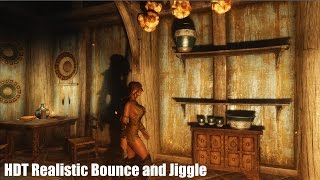 Skyrim Mods - HDT Realistic Bounce and Jiggle 4k HD