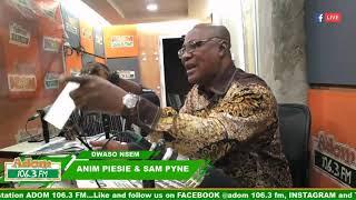 DWASO NSEM PANEL DISCUSSION on Adom FM (21-2-19)