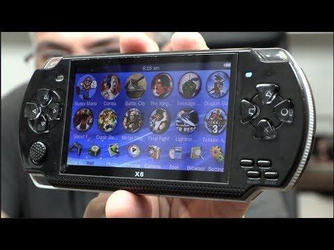 Consola personal con 1000 juegos por solo $29.99 a lo PSP