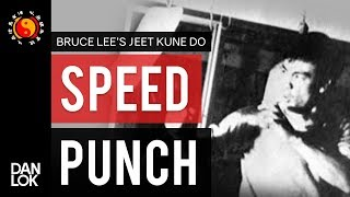 Bruce Lee's Speed Punching Exercise - Punching Paper