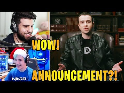 Streamers React to Drlupo & Timthetatman *BIG* ANNOUNCEMENT! | Fortnite Highlights & Funny Moments