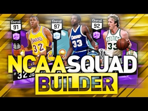 THE BEST NCAA TOURNAMENT PLAYERS OF ALL TIME! NBA 2K17