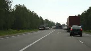 Автомобиль против Грузовика  E40(Бельгия)