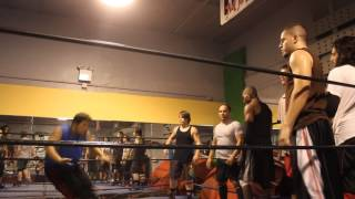 The First Class of The House Of Glory Wrestling School