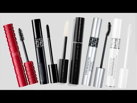 HIGH END MASCARA REVIEW | Chanel, Dior & NARS
