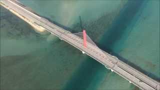 【沖縄】沖縄のきれいな海! 車の中で感動できる海中道路ドライブ