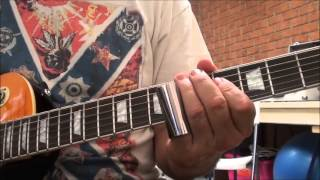 """BackStreet Pickup"", ""The Angels"", close up view, how to play on guitar"