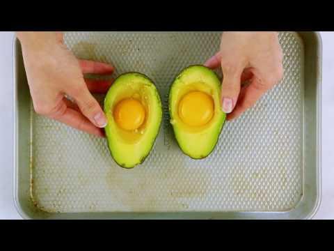 Video How to Make Baked Avocado Eggs | Get Healthy U Recipes