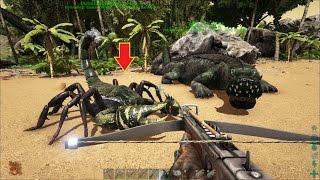 ARK: Survival Evolved #23 - Bắt Bò cạp đất khổng lồ Pulmonoscorpius, Cưỡi luôn =))