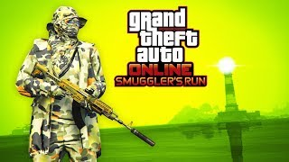 GTA Online: CAMO MILITARY OUTFIT (Smugglers Run Outfits)