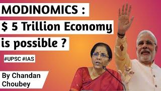 $ 5 Trillion   $ 5 Trillion Economy till 2025 for India is possible, Narendra Modi on Indian Economy