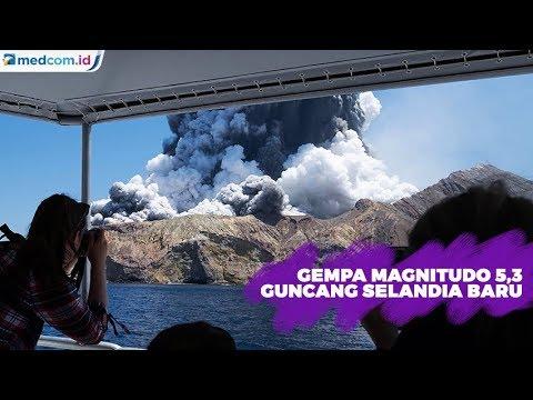 Usai Erupsi Gunung Api, Selandia Baru Diguncang Gempa