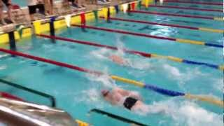 preview picture of video 'Ulster Masters 2012 Lisburn, 4 x 25m Freestyle Relay'