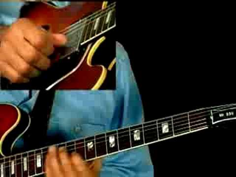 Blues Guitar Lesson - Blues Motifs - Larry Carlton