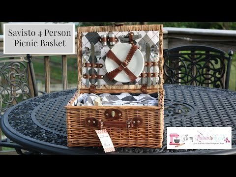 Savisto 4 Person Picnic Basket | Amy Learns To Cook Mp3