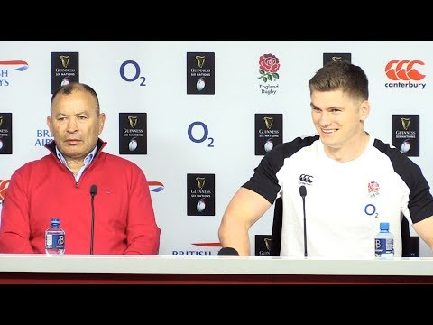England v Italy - Eddie Jones & Owen Farrell Full Post Match Press Conference - Six Nations 2019
