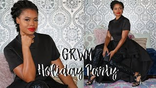 GRWM Holiday Party 2017