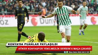 Atiker Konyaspor, evinde Malatyaspor ile 1-1 berabere kaldı