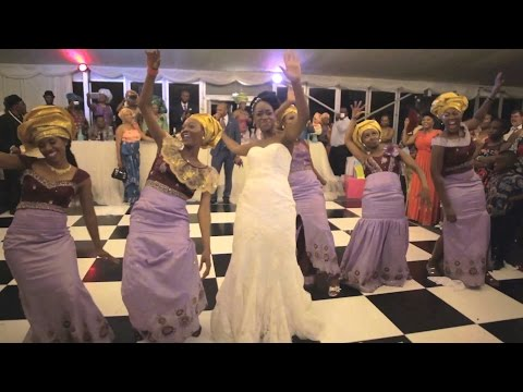 Video: Amazing Wedding Dance Ever?