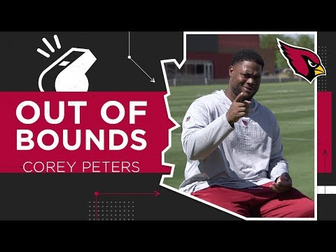 Corey Peters Claims to Have Better Dance Moves than Chandler Jones | Arizona Cardinals Out Of Bounds