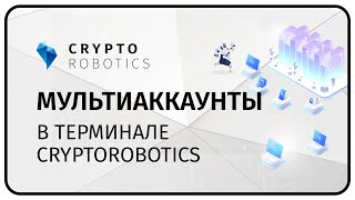Мультиаккаунты в терминале Cryptorobotics.