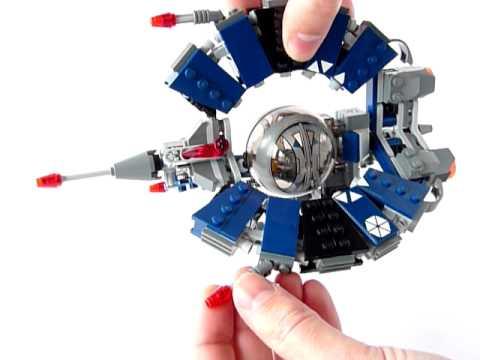 Vidéo LEGO Star Wars 8086 : Droid Tri-Fighter
