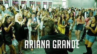 MEETING ARIANA GRANDE From Victorious⎮Boston Mass.⎮Td Garden 2019