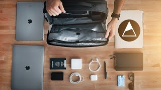 The NOMATIC Laptop Bag Walk Through! How To Use It!