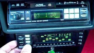 Alpine Audio Old School on Alfasud Ti QV: 3342 , 5959 , 7294