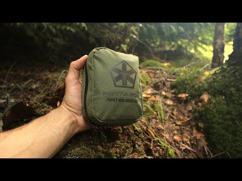 My First Aid Kit for Bushcraft, Fishing & Wild Camping